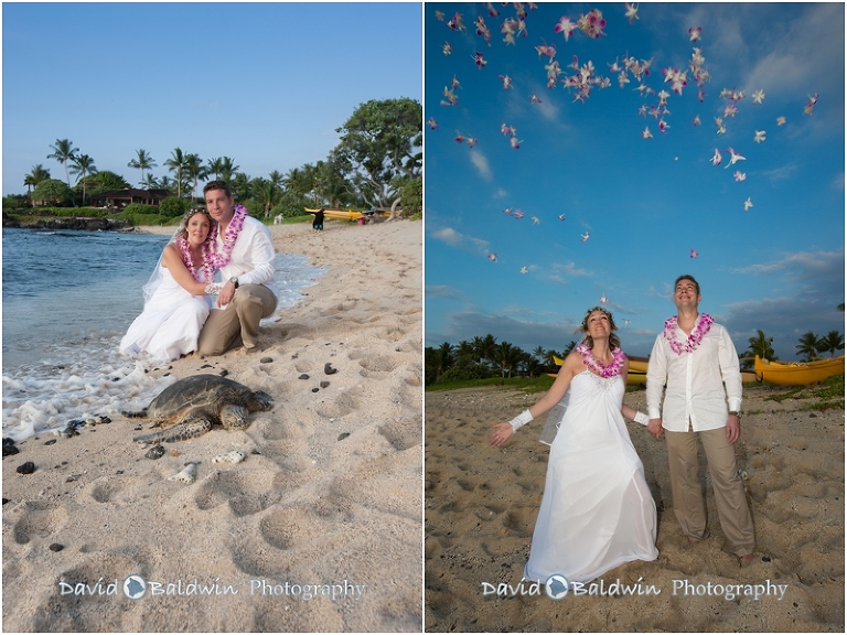 Kukio Beach Wedding Photos 28 Jpg